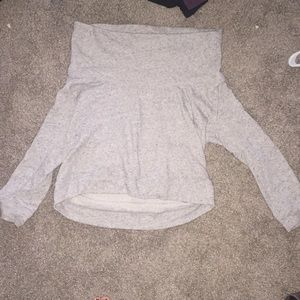 Express cowl sweater